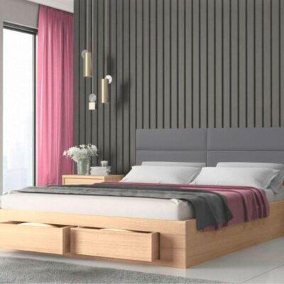 Marcel Κρεβάτι διπλό με στρώμα